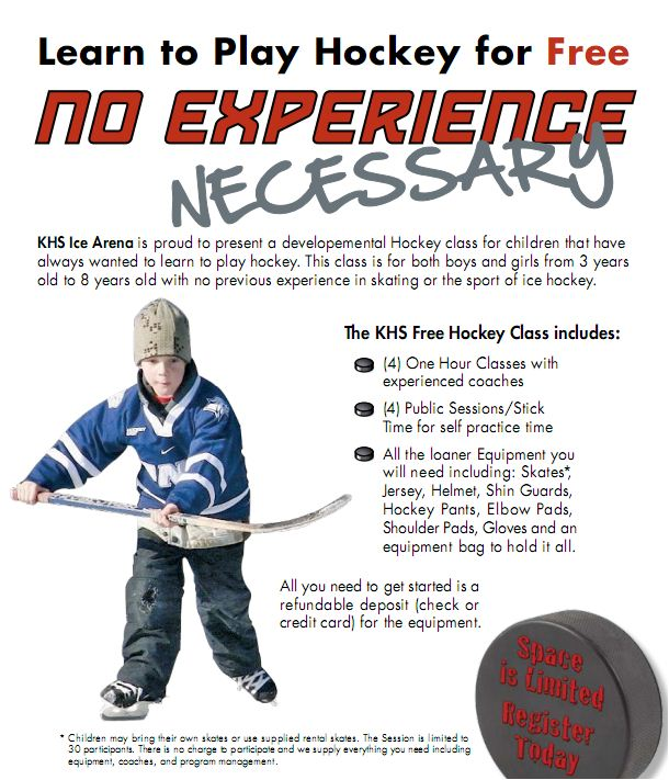 Youth - Learn to Play Hockey - Centerpoint Community Ice Rink